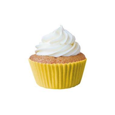 Forminha-Greasepel-Mini-Cupcake-nº-2---Lisa---Amarelo-Girassol---45-unidades