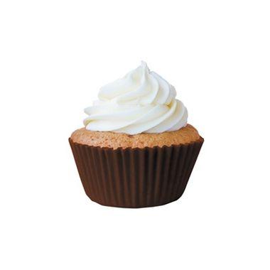 Forminha-Greasepel-Mini-Cupcake-nº-2---Lisa---Marrom---45-unidades