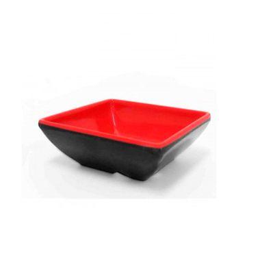 Tigela-Melamina---preta-e-vermelha---7-x-25-cm---unidade