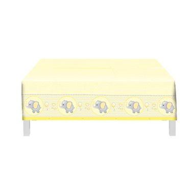 Toalha-de-mesa-Elefantinho-Amarelo----Plastico---120-x-180m---unidade
