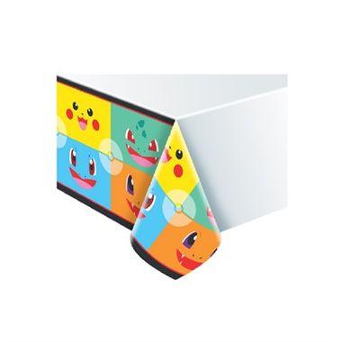 Toalha-de-Mesa-Pocket-Monsters---plastica---180-x-120-m---unidade