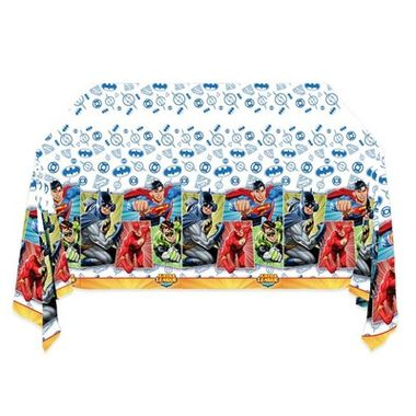 Toalha-Liga-da-Justica---para-mesa---plastica---120-x-180-m---unidade