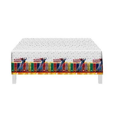 Toalha-Liga-da-Justica-Ilustrada---para-mesa---plastica---120-m-x-180-m---Unidade