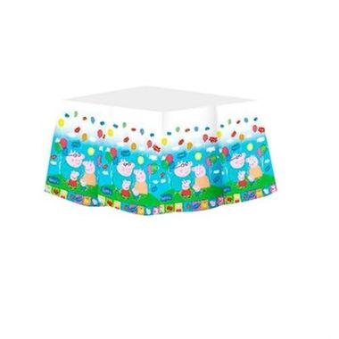Toalha-Peppa-Pig---para-mesa---plastico---180-x-120-cm---unidade