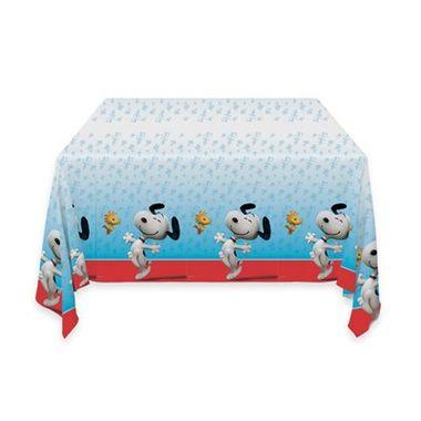Toalha-Snoopy---de-mesa---plastica---120-m-x-180-m---unidade