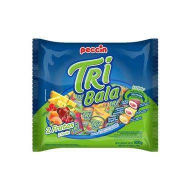 Tri-Bala-Mastigavel-Recheada-e-Drageada---sabor-2-Frutas---embalagem-500-g