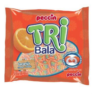 Tri-Bala-Mastigavel-Recheada-e-Drageada---sabor-Laranja---embalagem-600-gr