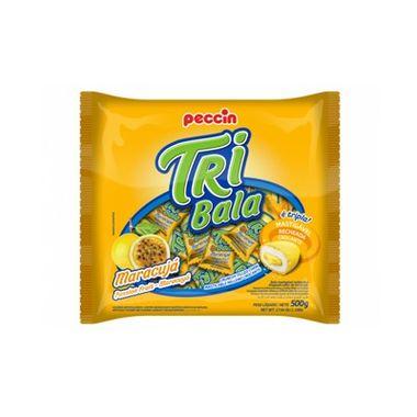 Tri-Bala-Mastigavel-Recheada-e-Drageada---sabor-Maracuja---embalagem-500-gr
