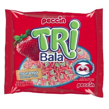 Tri-Bala-Mastigavel-Recheada-e-Drageada---sabor-Morango---embalagem-600-gr