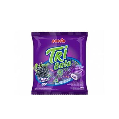 Tri-Bala-Mastigavel-Recheada-e-Drageada---sabor-Uva---embalagem-100-gr