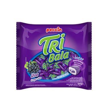 Tri-Bala-Mastigavel-Recheada-e-Drageada---sabor-Uva---embalagem-500-gr