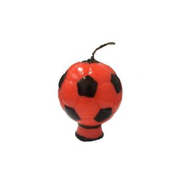 Vela-Bola-de-Futebol---vermelha---unidade