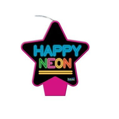 Vela-Estrela-Neon----Pink---plana---unidade