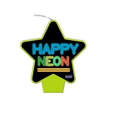 Vela-Estrela-Neon---Amarela---plana---unidade