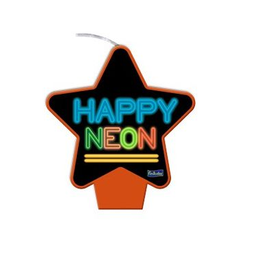 Vela-Estrela-Neon---Laranja---plana---unidade