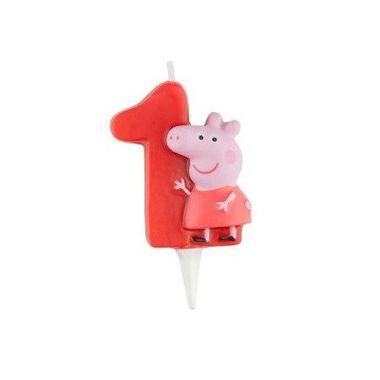 Vela-Peppa-Pig---3D---Numero-1---unidade