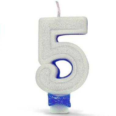 Vela-Super-Glitter---Branca-com-Azul-5---unidade