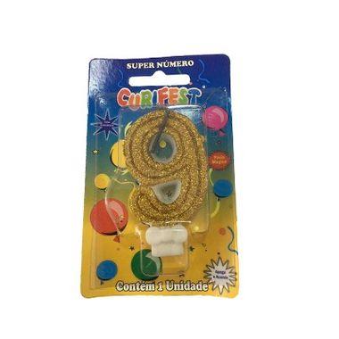 Vela-Super-Glitter---Dourada-9---unidade