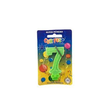 Vela-Super-Glitter---Verde-7---unidade