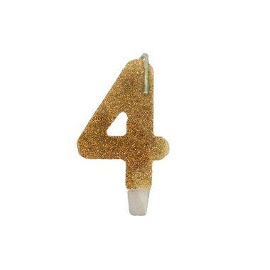Vela-Super-Stylus---Dourada-Nº4---unidade