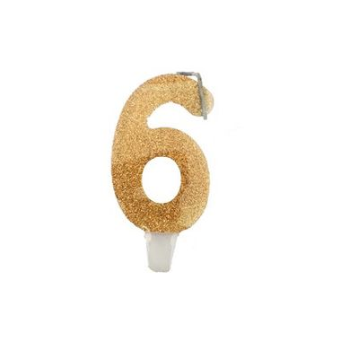 Vela-Super-Stylus---Dourada-Nº6---unidade