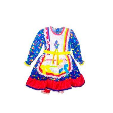 Vestido-Junino-Balao-Manga-Longa---Tamanho-6---cores-sortidas---unidade
