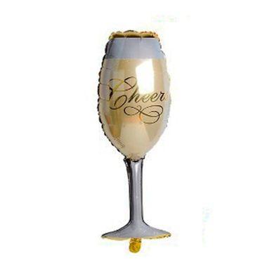 Balao-Taca-de-Champagne-Super-Shape---Metalizado---unidade