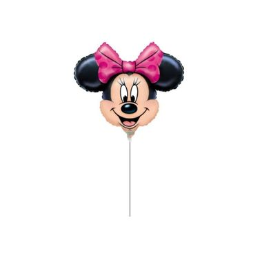 Balao-Minnie-Mouse-14-----Mini-Shape---metalizado---unidade