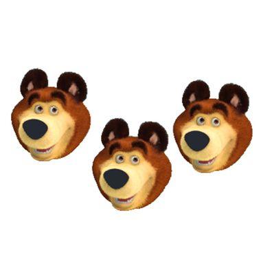 Aplique-Mini-Carinhas-Urso---Masha-e-o-Urso---impresso-e-e-v-a----06-unidades