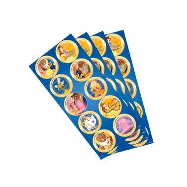 Adesivo-Decorativo-A-Bela-e-a-Fera---Redondo---03-cartelas-com-10-unidades-cada