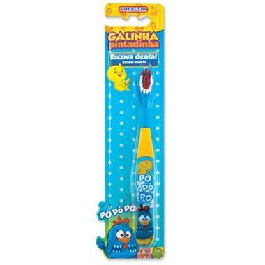 Escova-de-Dentes-Galinha-Pintadinha---infantil---unidade