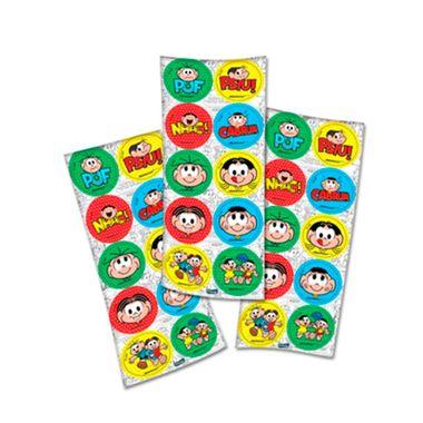 Adesivo-Decorativo-Turma-da-Monica---3-cartelas-com-10-adesivos-cada