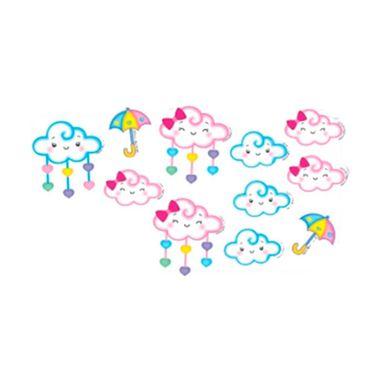 Aplique-Decorativo-Chuva-de-Amor---e-v-a----12-unidades