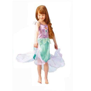 Fantasia-Princesa-Ariel-Classica---Tamanho-P---A-Pequena-Sereia---infantil