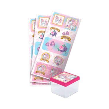 Adesivo-Decorativo-Unicornio-New---Quadrado---embalagem-30-unidades