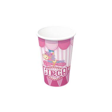 Copo-Papel-Circo-Rosa---200-ml---08-unidades