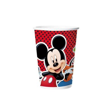 Copo-de-Papel----Mickey-Classico---180-ml---08-unidades