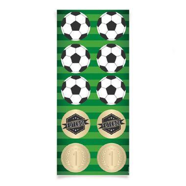 Adesivo-Decorativo-Redondo-Futebol---30-unidades