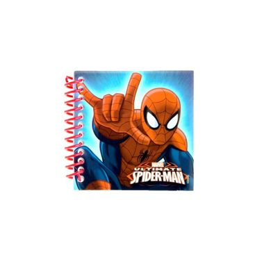 Bloco-de-Anotacoes---Spider-Man---Homem-Aranha-com-adesivo---30-folhas---unidade