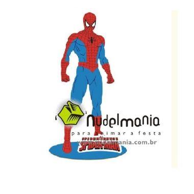 Enfeite-Homem-Aranha---Spider-Man---Centro-de-Mesa---Painel---e-v-a----unidade