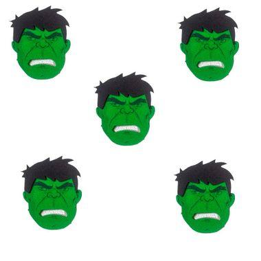 Aplique-Mini-Carinhas-Hulk---impresso-e-e-v-a---pacote-6-unidades
