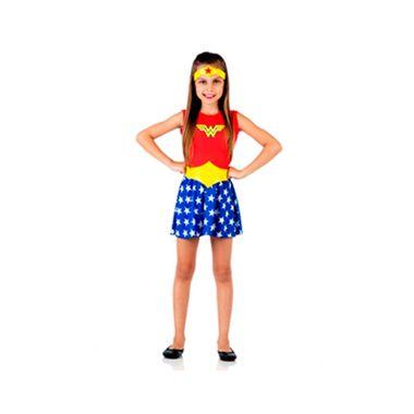 Fantasia-Mulher-Maravilha---Batman-x-Super-Homem---tamanho-MP---infantil---unidade