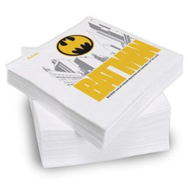 Guardanapo-Batman-Gothan-City---24-x-23-cm---pacote-16-unidades