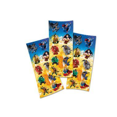 Adesivo-Liga-da-Justica-Ilustrada---3-cartelas-com-10-adesivos