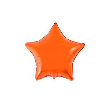 Balao-Estrela-20----metalizado---Laranja---unidade