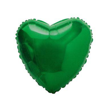 Balao-Coracao-9----metalizado---Verde---unidade