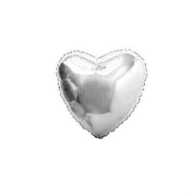 Balao-Coracao-4----metalizado---Prata---unidade