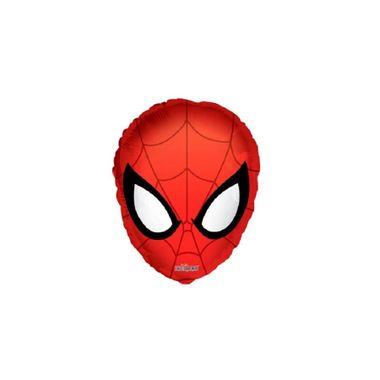 Balao-Homem-Aranha---Cabeca---18--x-22----metalizado---unidade
