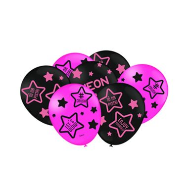 Balao-Neon---Rosa-Citrico---latex---9----25-unidades