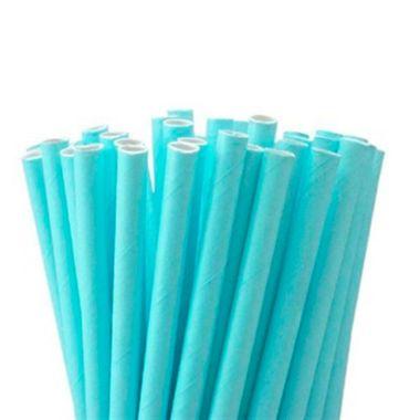 Canudo-de-Papel---Azul-Claro---12-unidades